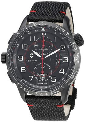 Victorinox Airboss Mach 9 Analog Display Chronograph Automatic Watch
