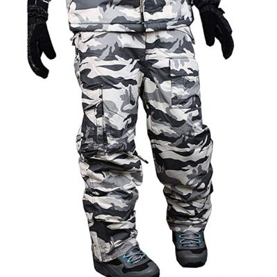 myglory77mall Men's Snowboard Military Pants