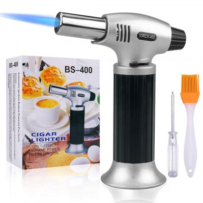 Culinary Blow Torch, Tintec Chef Cooking Torch Lighter