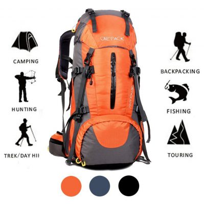 ONEPACK 70L Internal Frame Hiking Backpack