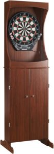 Hathaway Centerpoint Solid Wood Dartboard Cabinet