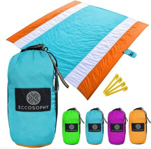 ECCOSOPHY Sand Proof Beach Blanket