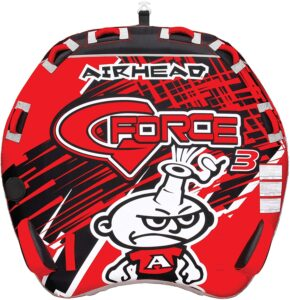 Airhead G-Force - 1-4 Rider Towable Tube for Boating