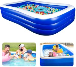 Choco Fun Inflatable Pool Kiddie Pool