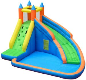 Doctor Dolphin Inflatable Bounce Slide Water Park