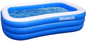 Homech Inflatable Swimming Pool