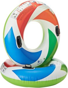 Intex Inflatable Color Whirl Floating Tube