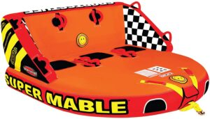 SportsStuff Super Mable - 1-3 Rider Towable Tube for Boating