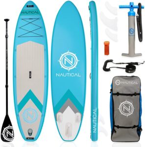 iROCKER Nautical Inflatable Paddle Board